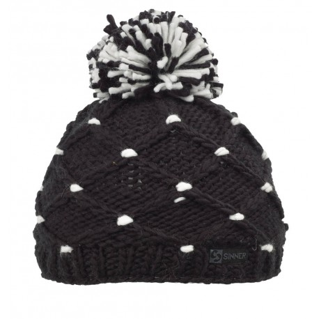 ШАПКА CROTCHED BEANIE BLACK