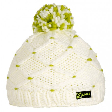 ШАПКА CROTCHED BEANIE WHITE