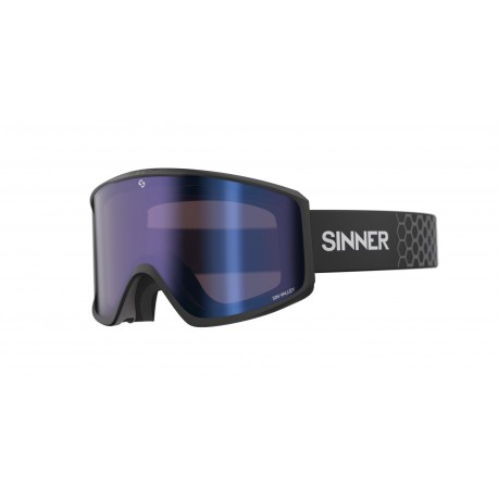 МАСКА ЗА СКИ SINNER SIN VALLEY MATTE BLACK