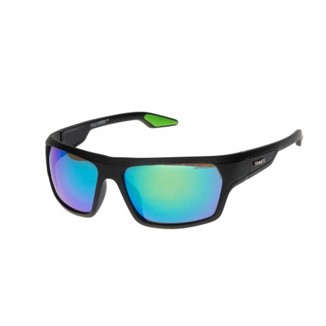 Слънчеви очила SINNER BLANC MAT BLACK POLARIZED